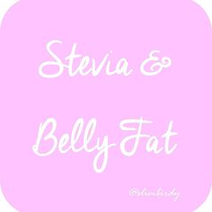 This week's blog post is about the realisation that Stevia was causing my mid section to expand a bit. And it's supposed to have no calories and no downside! I have been an advocate of Stevia for a little while now but since I discovered this was happening to me I read a bit more about it and it seems others have had this same result.  Read the full story here: http://ift.tt/1SeaCGZ  While I won't necessarily steer clear of products that do already have it I definitely won't be adding it to…
