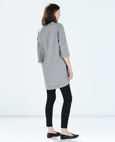 Image 4 of PRINTED VELOUR DRESS from Zara