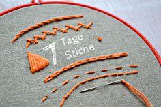 Pumora Sticken, TutorialsVeröffentlicht am Februar 25, 2014Schreibe einen Kommentar7 Tage 7 Stiche: der Plattstichvon Anne7 Tage 7 Stiche: der Plattstich