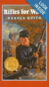 5th Grade Reading at Wichita Collegiate School  Amazon.com: Rifles for Watie (9780812455489): Harold Keith: Books