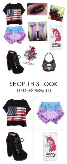 """""""U Can't Touch This B!tch"""" by frankyisthemeaningofcool ❤ liked on Polyvore featuring Chicnova Fashion, Runwaydreamz, Jessica Simpson, Miss Selfridge and Ed Hardy"""