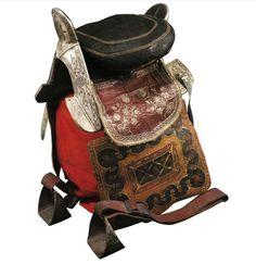 The Circassian saddle. Седло черкесское. Адыги( черкесы). XIXв.ГИМ.