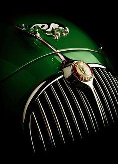 Jaguar - British racing green