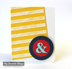 Ampersand Die-namics, Blueprints 16 Die-namics, Stripes Cover-Up Die-namics - Amy Rohl #mftstamps