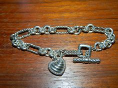 David Yurman Cable Bracelet with Diamond by FabricGuysTreasures, $345.00