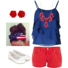 Fourth of July fashion | Independence Day | women's clothing | cute outfit