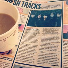 Great piece on Yamantaka // Sonic Titan's upcoming album 'UZU' in NOW Magazine