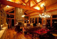 12 Timber Frames That Will Make You Want to Snuggle by a Fire - Timber Frame HQ