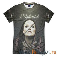 Мужская футболка 3D с полной запечаткой Тарья Турунен Nightwish купить в интернет магазине WsemPoMayke.Ru http://wsempomayke.ru/product/manshortfull/1055563  Доставка по России курьером или почтой, оплата при получении. Посмотреть размеры и цену > http://wsempomayke.ru/product/manshortfull/1055563