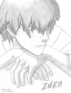Fan Art of Zuko Drawing for fans of Avatar: The Last Airbender. Just a drawing of Zuko