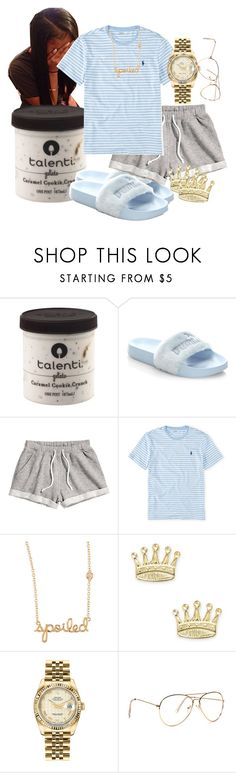 """"" by kashharmonii ❤ liked on Polyvore featuring Puma, H&M, Ralph Lauren, Sydney Evan, Good Charma and Rolex"