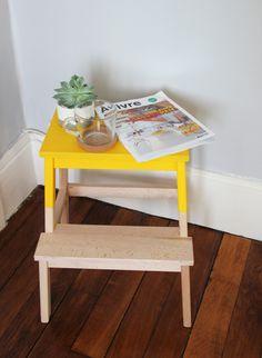 IKEA HACK Marche pieds BEKVAM Inspiration de la Loutre Scandinave http://laloutrescandinave.jimdo.com/