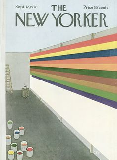 The New Yorker - Saturday, September 12, 1970 - Issue # 2378 - Vol. 46 - N° 30 - Cover by : Charles E. Martin