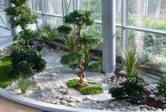Home Vétal réalise des jardins d'interieur de plantes artificielles, des décoration en entreprise