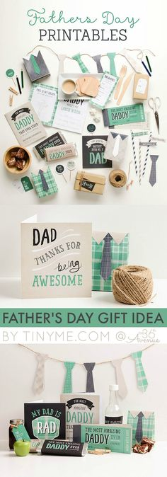 Before we know we'll be celebrating Father's Day. Our friends over at Tinyme.com are visiting with us today and sharing the cutest Father's Day Printables ever! I love the colors and patterns of these free printables and the super cute ideas that they always share on their blog… Let's take a c...