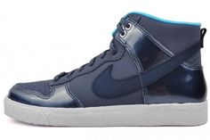 "Nike Dunk High AC ""Patent"" - Dark Armory Blue"
