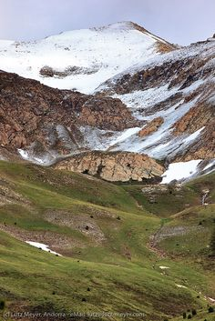 Andorra nature - mountains: Vallnord, Andorra, Pyrenees