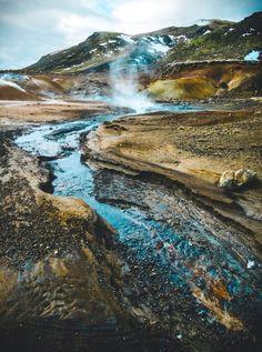 Krysavik in Iceland by Colin Nicholls