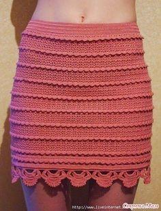 B om dia, já vi nas minhas andanças na net este modelo de saia, cores variadas mas, sempre linda. Ideal para o verão, disfarça gordurinhas...