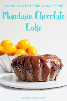 Mandarin orange cakes, Orange cakes and Gluten free chocolate on ...