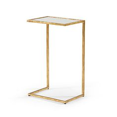 MATTESON SIDE TABLE GOLD