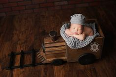 Ready to ship, Baby boy, newborn boy prop, newborn boy hat, Train Conductor hat, train engineer hat, newborn, train photo props, rts prop on Etsy, $35.00