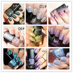 1pc Born Pretty Holographic Holo Glitter Nail Polish Nail Varnish Hologram Effect Nail Art Enamel Decoration 11 Colors available >>> See this great product.