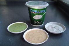 3 Aderezos para ensaladas a base de Yoghurt Natural