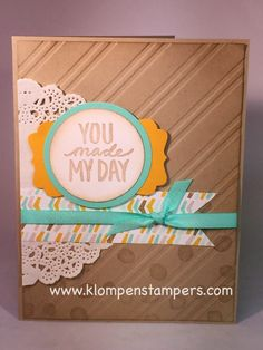 Klompen Stampers (Stampin' Up! Demonstrator Jackie Bolhuis): So Many Cards, So Little Time