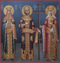 Mihail Alivizakis – icoana Religious Icons, Religious Art, Sf Constantin, Greek Icons, Paint Icon, Religion, Russian Icons, Book Of Kells, Byzantine Icons