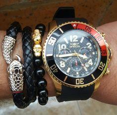 #invicta #snake #watches #prodiver