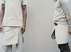 #style #grey #white #Maison Martin Margiela