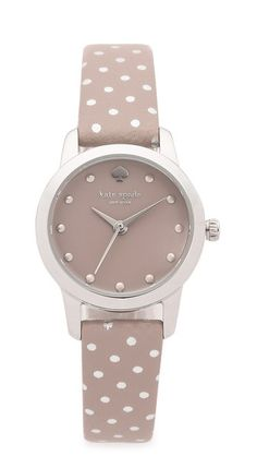 Kate Spade New York Metro Mini Polka Dot Strap Watch
