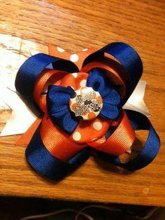 Only $8 on etsy!! Cute auburn bow!!