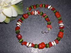 Colliers - Collier * LEBENSLUST * - ein Designerstück von lilly10 bei DaWanda
