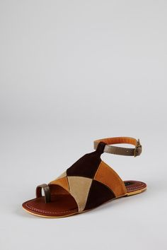 NYLA Sultan Flat Sandal by Spring Fever