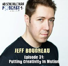 Putting Creativity In Motion: Jeff Boudreau of Jeff's Musical Car - No Schedule Man Podc...