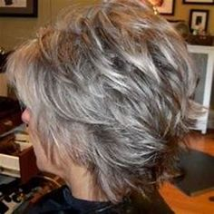 wanna give your hair a new look? Short shag hairstyles is a good choice for you. Here you will find some super sexy Short shag hairstyles, Find the best one for you, Short Grey Haircuts, Layered Haircuts For Women, Short Shag Hairstyles, Gray Hairstyles, Fringe Hairstyles, Short Choppy Layered Haircuts, Layered Haircuts Shoulder Length, Wedge Hairstyles, Hairstyles Over 50