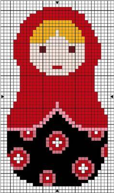 cross stitch by Silvia V