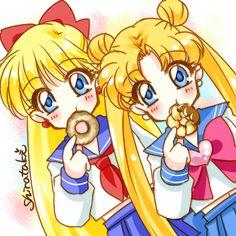 Minako-chan and Usagi