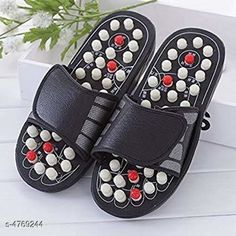 Others Yoga Paduka Accu Paduka/Slipper Spring Slipper Acupressure & Magnetic Full Body Massage Foot Care Yoga Paduka Massager  Product Name : Yoga Paduka Accu Paduka/Slipper Spring Slipper Acupressure & Magnetic Full Body Massage Foot Care Yoga Paduka Massager Material:  Rubber  Size : IND - 9    Package Contains : It Has 1 pair Of Massager Slipper Country of Origin: India Sizes Available: Free Size   Catalog Rating: ★3.9 (1206)  Catalog Name: Free Mask Yoga Paduka Massager Product Vol 4 CatalogID_694493 C84-SC1281 Code: 952-4769244-015