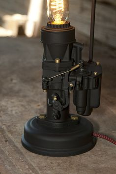 Are you into cars, motors, racing ? Are you a Rat Rod Gearhead ? If so, this lamp takes you all the way back to the beginnings of American Hot