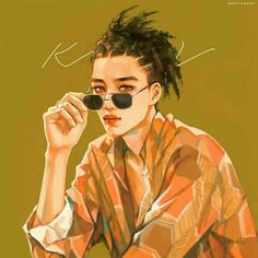 Image in ♕ exo ♕ collection by ✵ e m i l y ✵ on We Heart It Exo Anime, Anime Manga, Anime Art, Illustrations, Illustration Art, Kai Arts, Fanart Bts, Exo Fan Art, Handsome Anime Guys