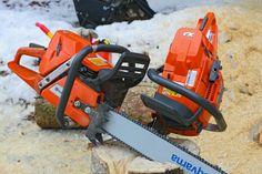 Husqvarna chainsaws.