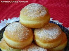 Šišky s vodou Czech Recipes, Russian Recipes, Something Sweet, Donuts, Brunch, Food And Drink, Sweets, Bread, Baking