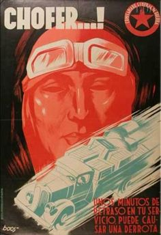 Spain - 1936-39. - GC - poster - autor: boos