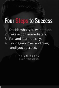 Brian Tracy's simple process for a successful life. Real Life Quotes, Reality Quotes, Success Quotes, True Quotes, Words Quotes, Motivational Quotes, Inspirational Quotes, Mindset Quotes, Attitude Quotes