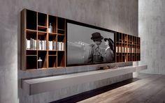 N. C. Smartwall de Acerbis | Muebles Hifi / TV