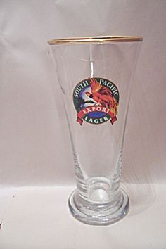 South Pacific Export Lager Souvenir Beer Glass (Image1)