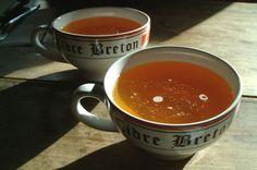 la fameuse bolée de cidre Breton